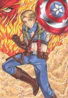 Captain America by Aiko-Mustang