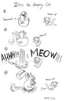 Zero the Annoying Cat by UnknownSoulCollector