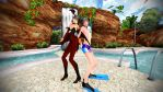 [MMD Rq] Succubus and Scuba Brenson by Ruko000Yokune