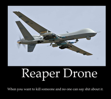 Reaper drone by ZuStorm