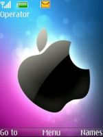 apple-theme_5610 xpressmusic_ by hamed2si