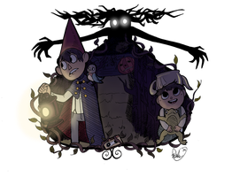 Over the garden wall illustration by Mistybutts
