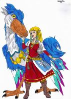 Zelda - Skyward Sword - by LilyLucius