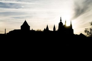 Prague Castle by Eterzweizigen