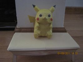 Pokedoll Pikachu by PrincessStacie