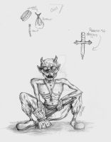 Demon Goblin by artist400