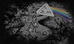 Dark side of the moon doodle by camsy