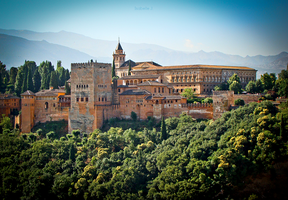 Alhambra by Zwoing