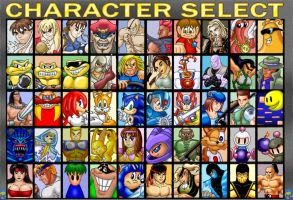 Character Select by rogferraz