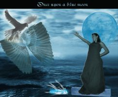 Once upon a blue moon... by DaRkLouSDaeDuLoM
