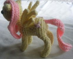 Fluttershy Crochet Doll4 by ChibiSayuriEtsy