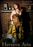 Steampunk Doll II by lovedthePilgrimSoul