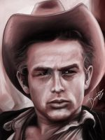 James Dean by DarDesign