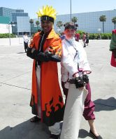Naruto and Tenten Sighting by R-Legend