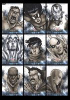 Avengers The Movie Sketchcards 01 by Guy-Bigbelly