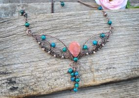 Copper Cherry by twistedjewelry