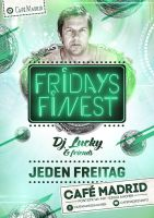 Eventflyer fridays finest by homeaffairs