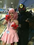 Mew Ichigo and Uchiha Umbreon - Otakon 2015 by King-Hauken