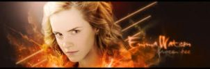 Emma Watson flame by Mad-Red-Innocence