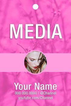 Free Media Badge #3 by CaponDesign