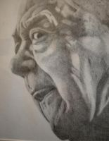 Old man by larcey
