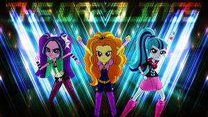 The Dazzlings Wallpaper by Macgrubor