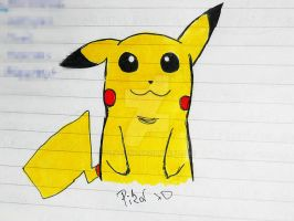 Pikachu by PitaBoing
