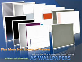 PowerPoint Themes Wallpapers by aesmon11