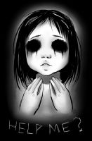 Cannock Chase Black Eyed Children by Chiichanny