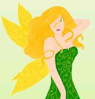 A Blonde Fairy by Doodler0305
