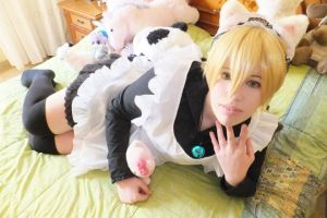 Maid!Kise :3 by CottonPaws2
