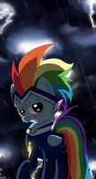 Rainbow dash saved the day! by MissPolycysticOvary