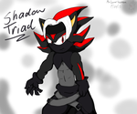Shadow Triad Member Shadow by MsLunarUmbreon