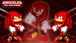 Knuckles the Echidna Wallpaper by iamthemanwithglasses