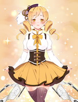 Mami Tomoe by golden-essence