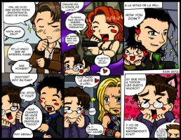 Bruce Banner y los Avengers by KamiTovar