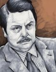 Ron Swanson by Paul4AllSeasons