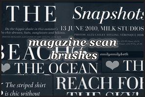 Text Brushes by emilyemilybeth