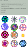 Thanks 500 Favs - free brushes by 1389AD