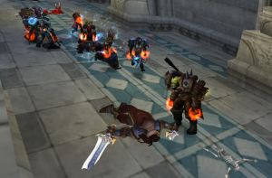 King Varian Defeated -WoW by randompuppet