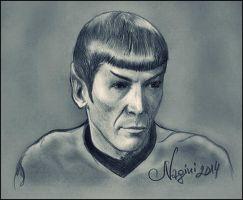 Mr. Spock by Nagini-snake