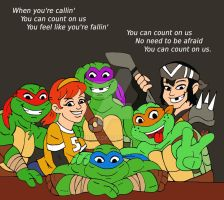 TMNT: Count On Us by xero87