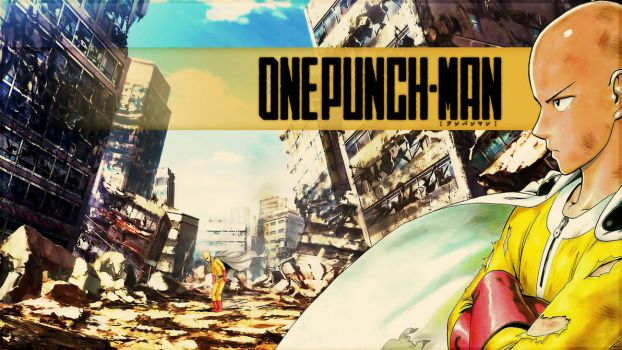 One-Punch Man - ''Saitama'' (Wallpaper 04) by Dr-Erich