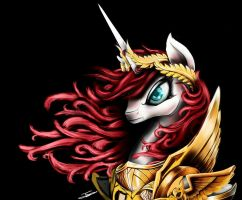 Lauren Faust the empress by EuropaMaxima
