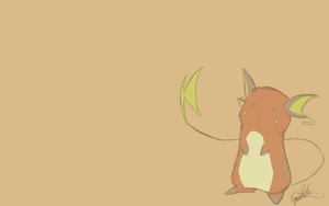 Simple Raichu by DancesWithFoxes