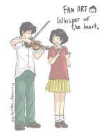 Whisper of the heart by buriburi