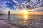 Sunset at Burj al Arab by ahmedwkhan