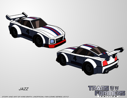 TF:Ignition - Jazz (Alt Mode) by KrisSmithDW