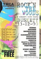 Rock in the Woods Flyer by mangion