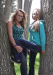 Coral and Ashley by Mellette